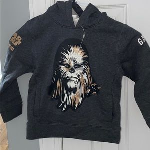Gap Star Wars chewie hoodie